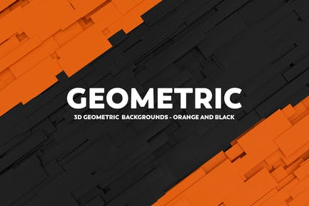 3D Geometric Abstract Backgrounds