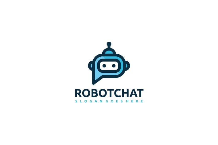 Thumbnail for Robot Chat Logo