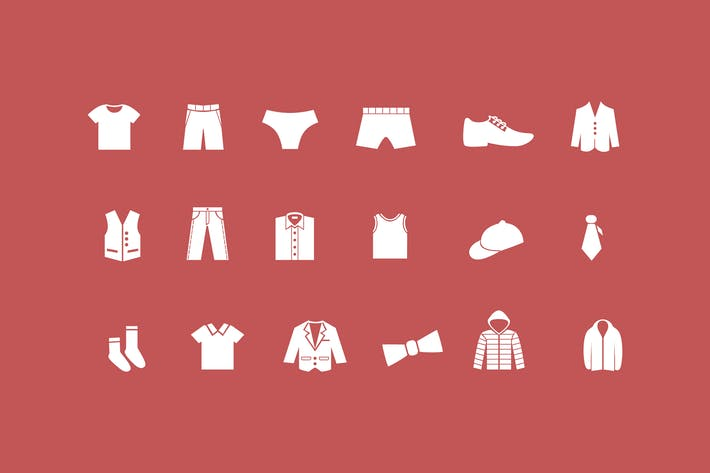 Thumbnail for 18 Male Clothes Icons