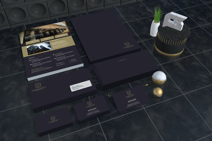 Thumbnail for Garelobet - Law Firm Corporate Identity