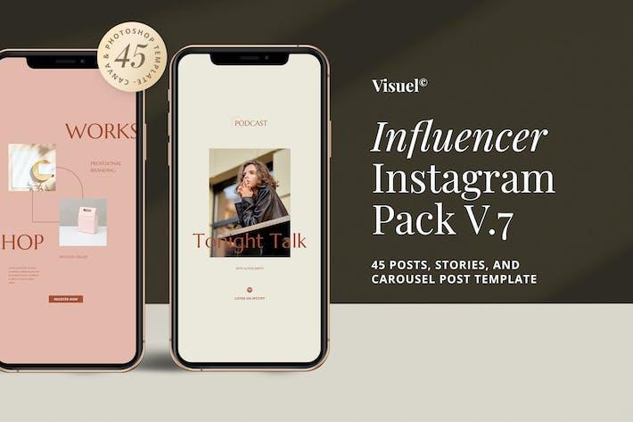 Thumbnail for Influencer Social Media Kit v.7