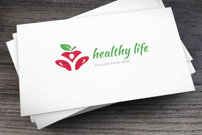 Thumbnail for Healthy Life Logo Template
