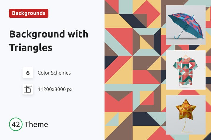 Background Abstract Geometric Triangles