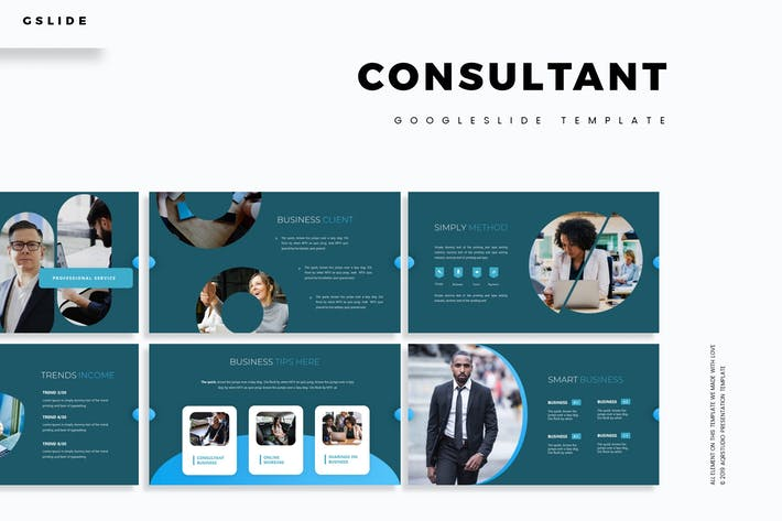 Thumbnail for Consultant - Google Slides Template