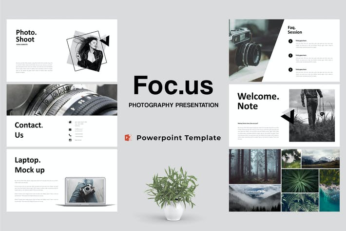 Thumbnail for Focus - Photography Powerpoint Template