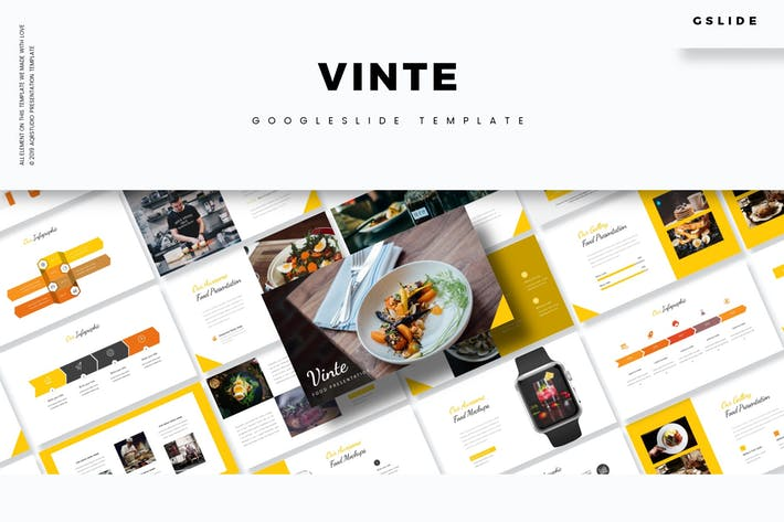 Cover Image For Vinte - Google Slides Template