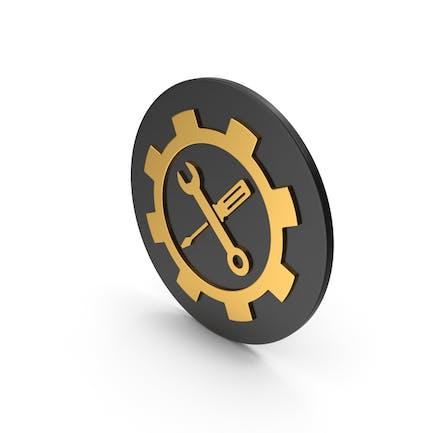 Tools Gold Icon