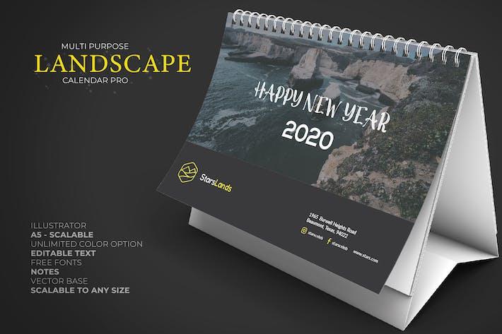 2020 Nature Kalender Schreibtisch Pro