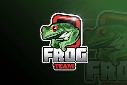 Frog Mascot & eSports Gaming Logo
