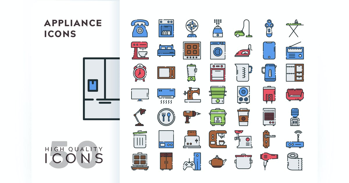 Download APPLIANCE FILLED COLOR by subqistd
