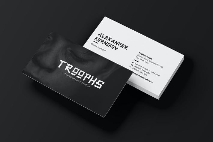 Thumbnail for Business Card - Troophs