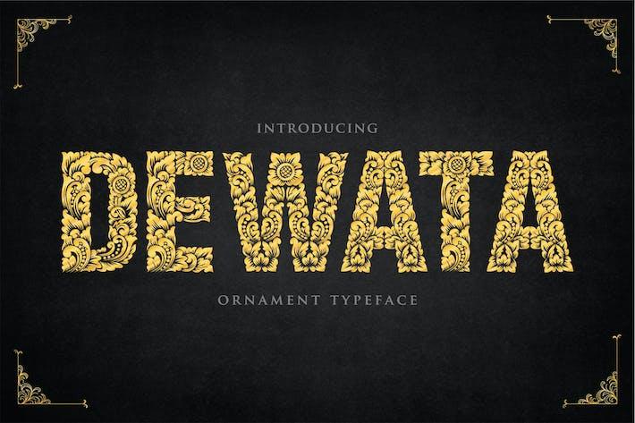 Dewata - Ornament Typeface