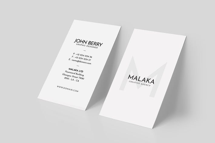 Cover Image For Minimal Business Card