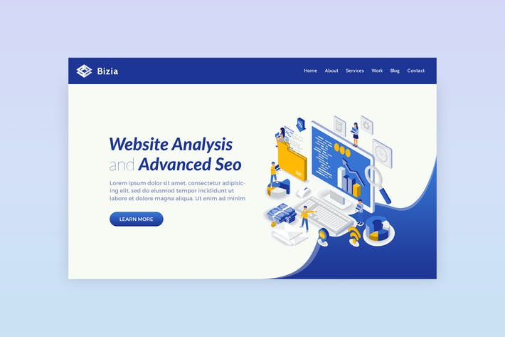 Thumbnail for Bizia - Website Analysis Hero Banner