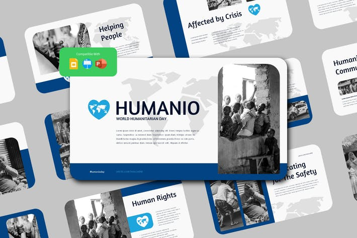Thumbnail for HUMANIO - World Humanitarian Day Presentation Temp