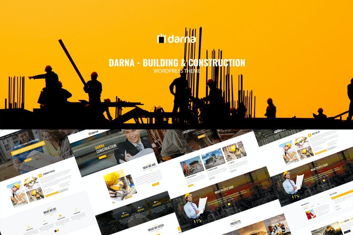 Cover Image For Darna – Building & Construction WordPress Theme