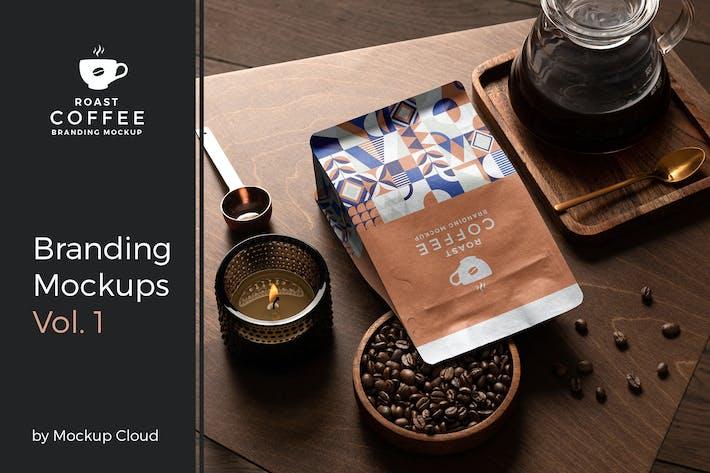 Thumbnail for Roast – Coffee Branding Mockup Vol. 1