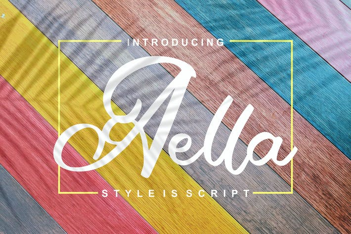 Thumbnail for Aella | Style Is Script Font