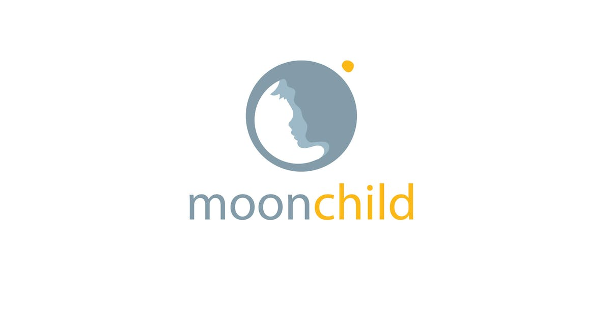 Download Moon Child Logo Template by 1protheme