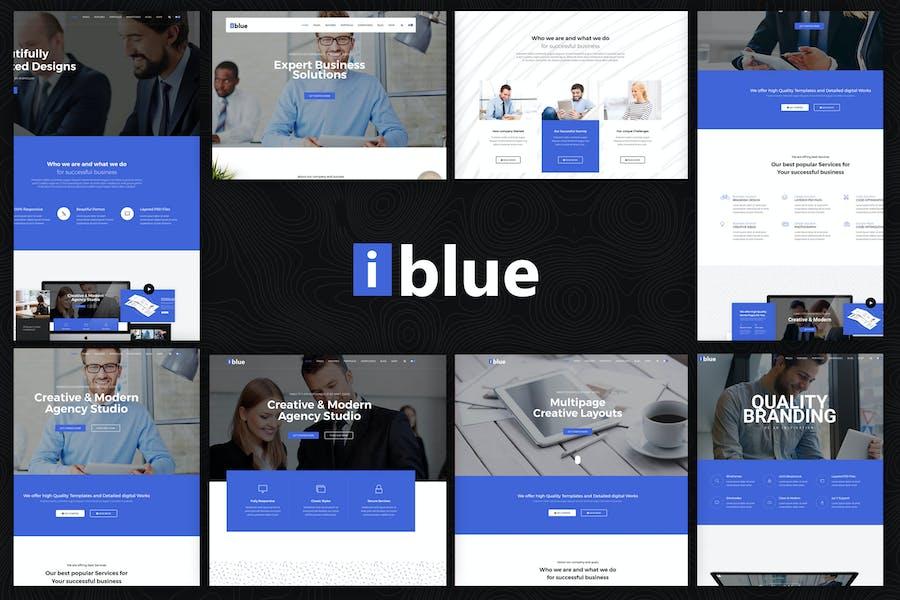 iblue - Responsive Multipurpose HTML5 Template