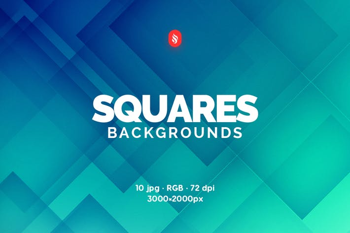 Thumbnail for Abstract Squares Backgrounds