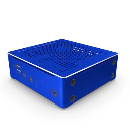 Mini PC Blue Used