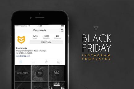 Шаблоны Черной Пятницы Instagram