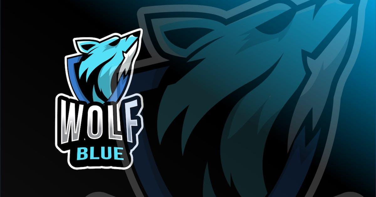 Download Wolf Blue Esport Logo Template by IanMikraz