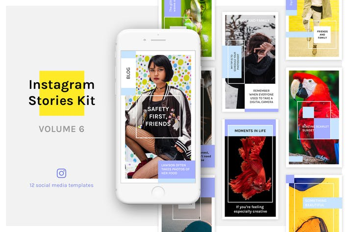 Thumbnail for Instagram Stories Kit (Vol.6)