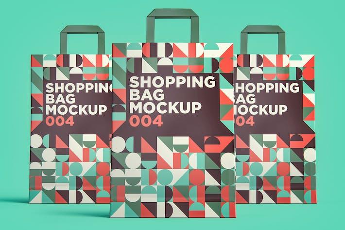 Shopping Bag Mockup 004