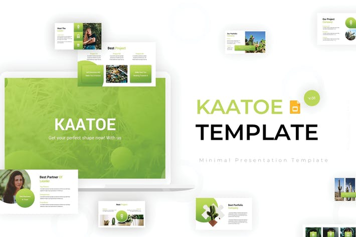 Thumbnail for Kaatoe - Google Slides Template