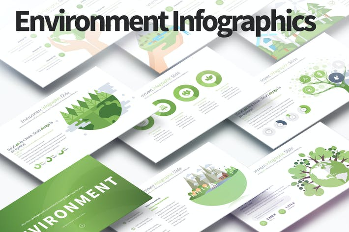 Thumbnail for Environment - PowerPoint Infographics Slides