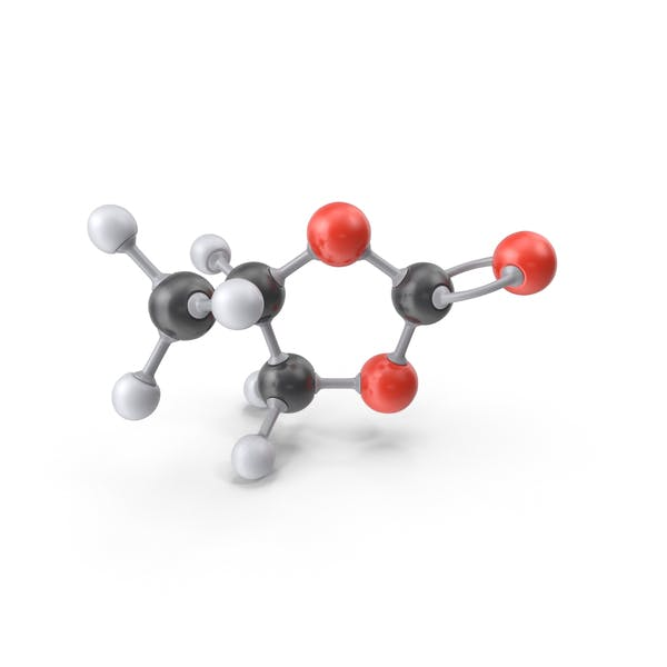 Molécula de carbonato de propileno