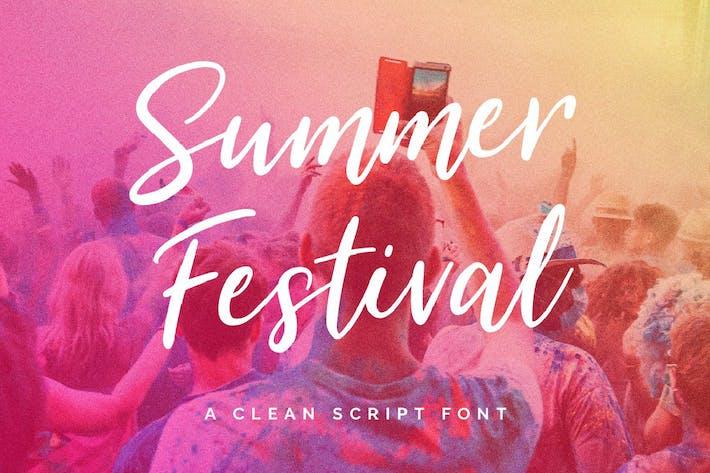 Thumbnail for Summer Festival Typeface