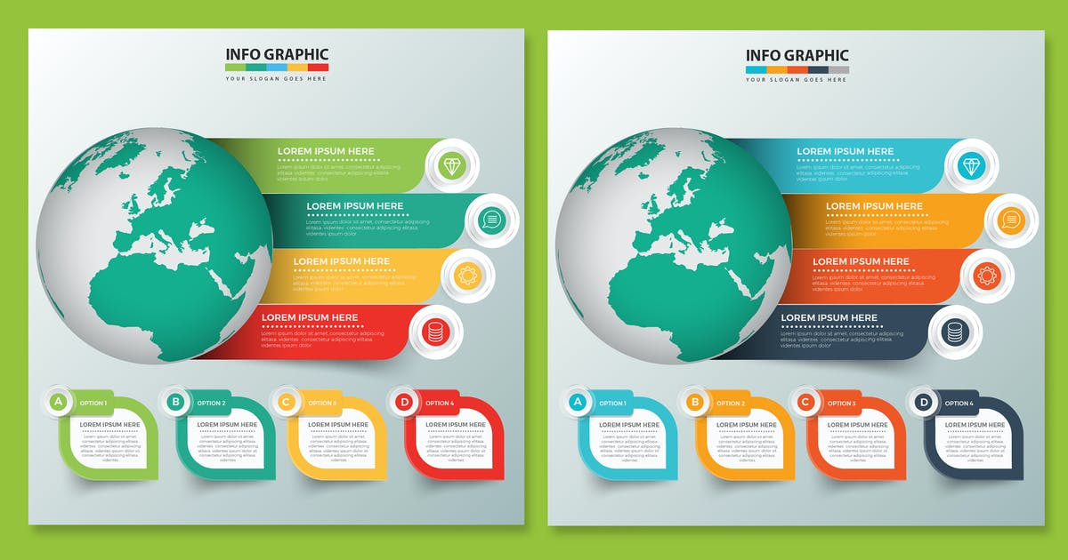 Download Global Infographics design by mamanamsai