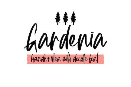 Gardenia Extra Font Symbol
