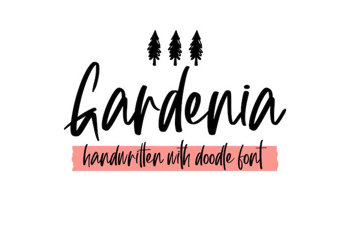 Thumbnail for Gardenia Extra Font Symbol
