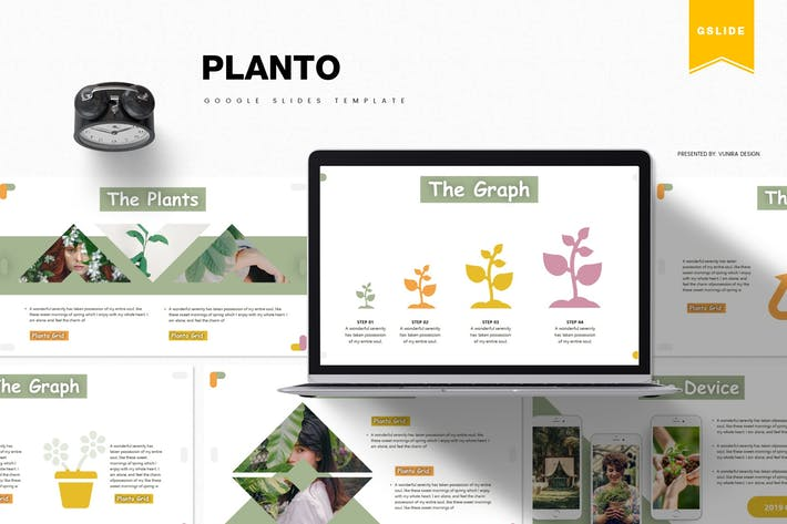 Thumbnail for Planto | Google Slides Template