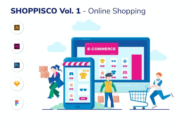Thumbnail for SHOPPISCO VOL.1 - Online Shopping
