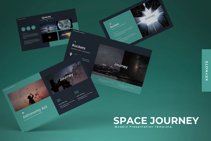 Cover Image For Space Journey - Powerpoint Template