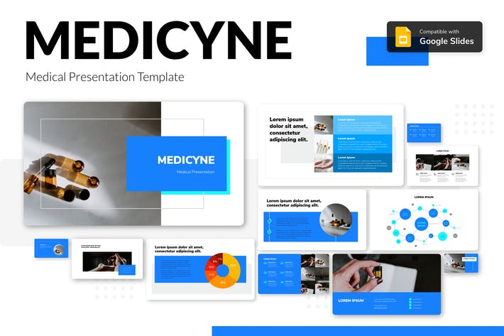 Thumbnail for MEDICYNE - Medical Presentation Template
