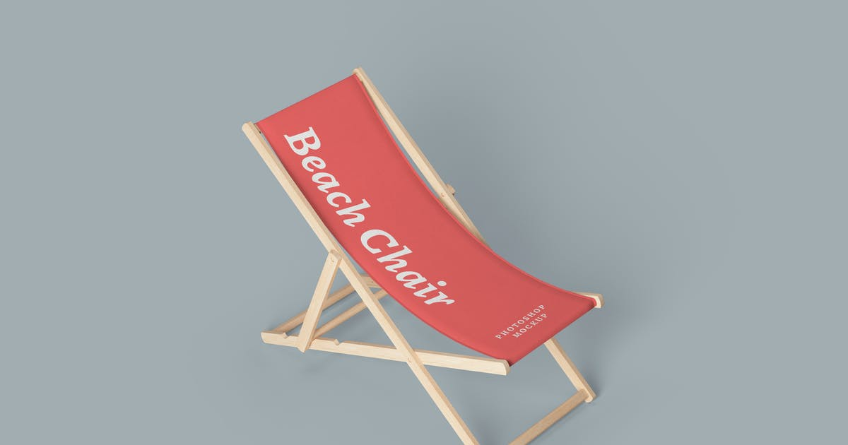 Download Beach Chair Mockups by artimasa_studio