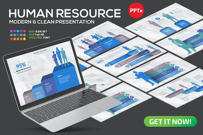 Thumbnail for Human Resource Powerpoint Presentation