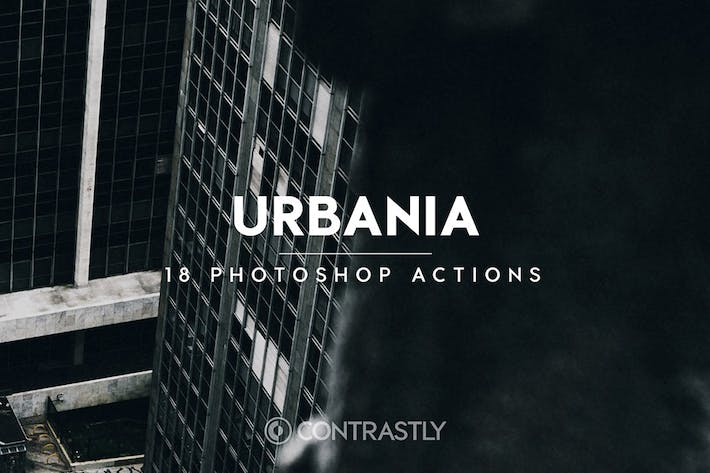 Thumbnail for Urbania Photoshop Actions