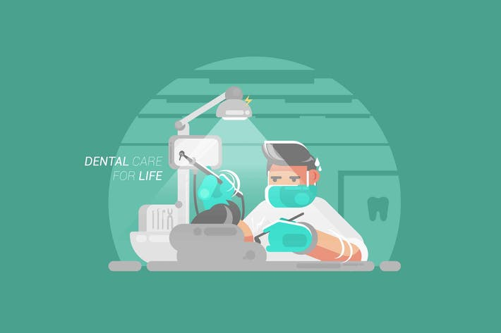 Thumbnail for Dental Care for Life - Vector Activity