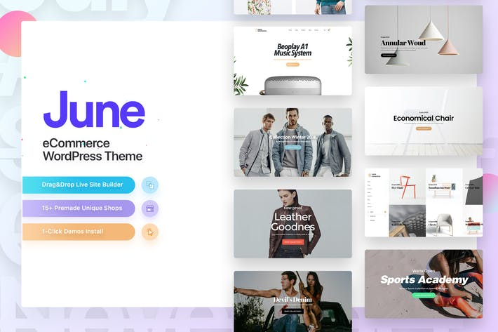Thumbnail for Juin | Mode WooCommerce WordPress Thème