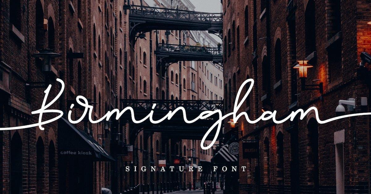 Download Birmingham Signature by aldedesign