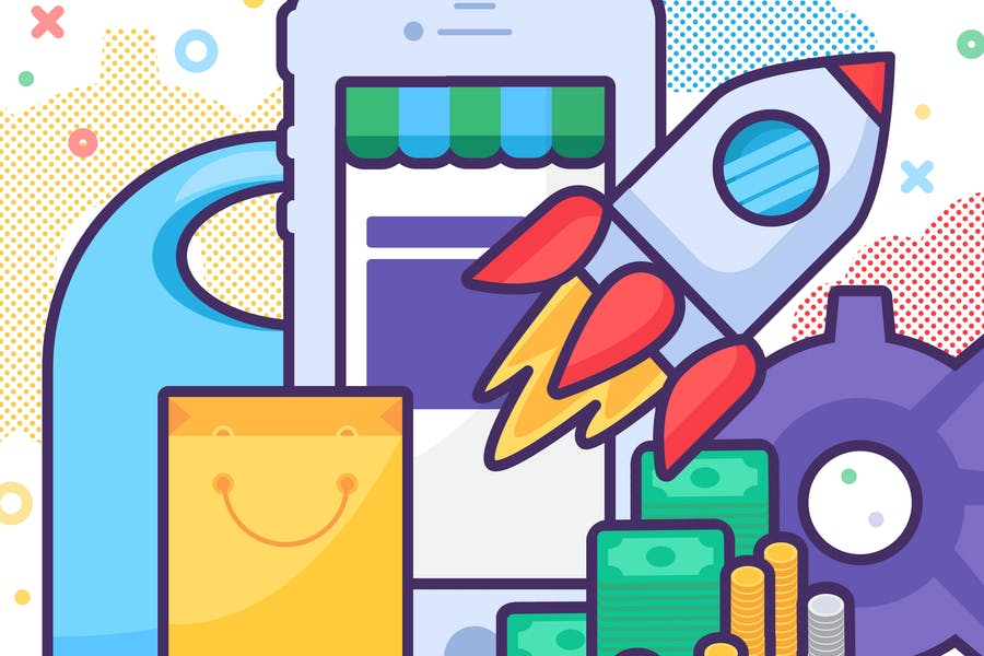 Mobile Store Launching Concept