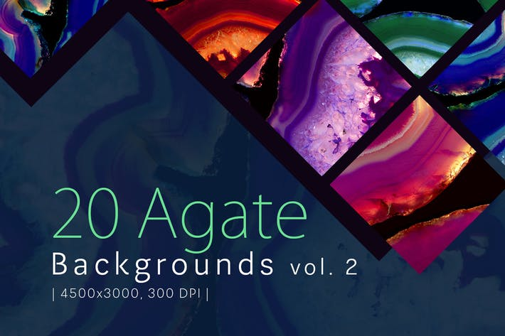 Thumbnail for 20 Agate Backgrounds vol. 2
