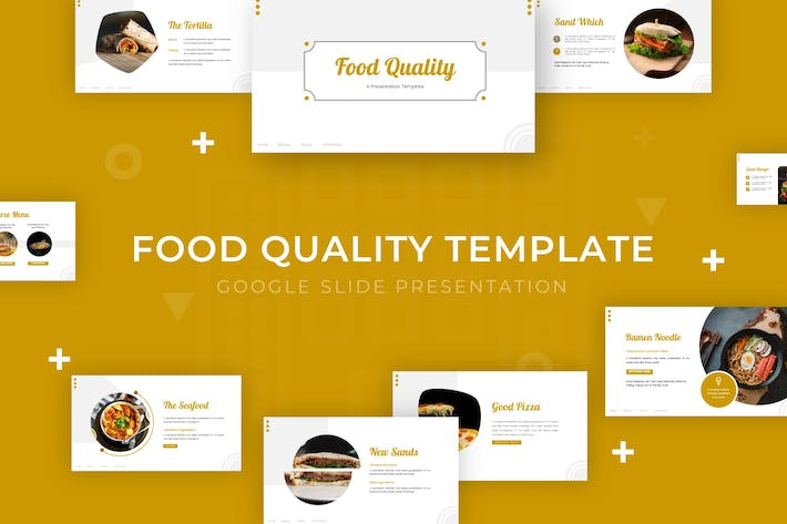 Thumbnail for Food Quality - Google Slide Template